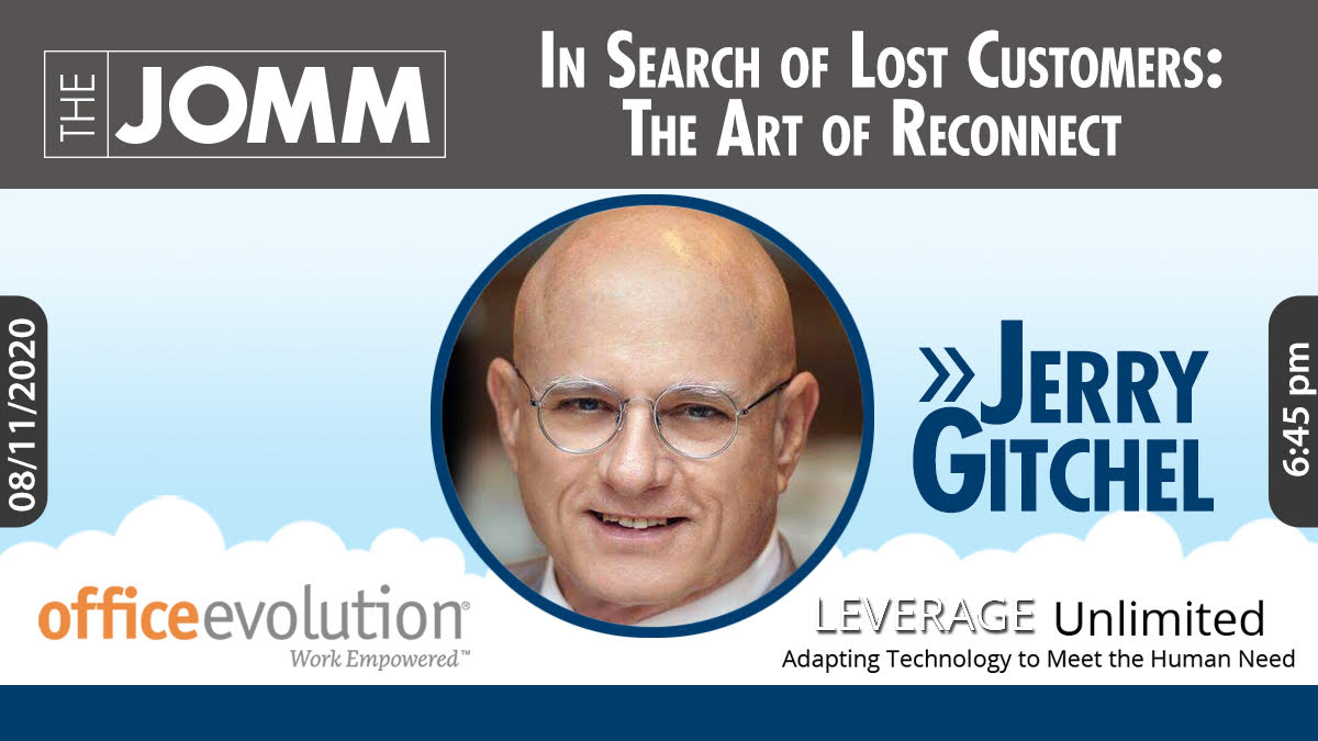 In Search of Lost Customers:The Art of Reconnecting